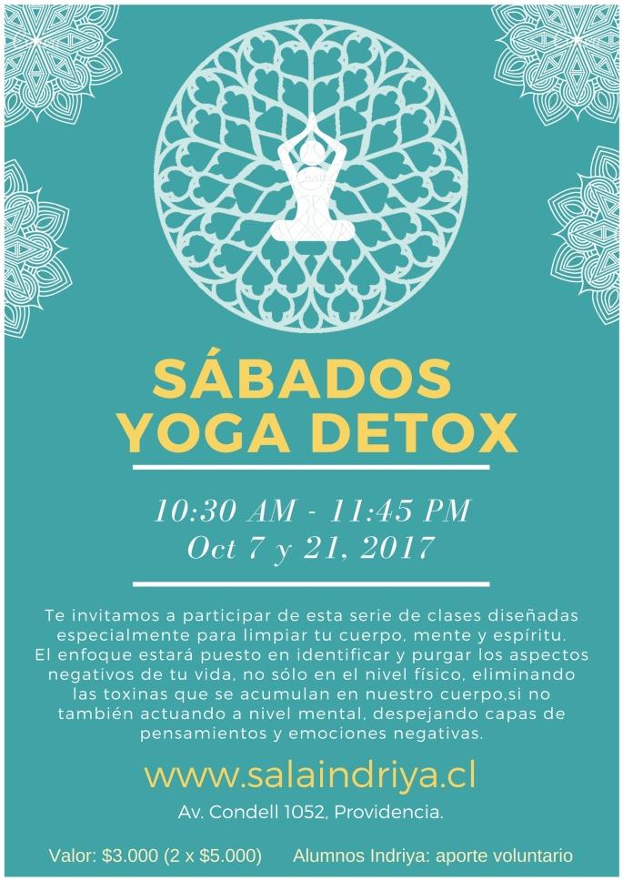 sábados yoga detox